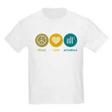 Peace Love Actuarials T-Shirt