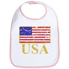 USA Flag (worn) Bib