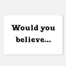 Would You Believe... Postcards (Package of 8)