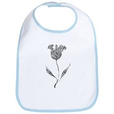 Dark Flower Bib