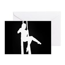 Aerial Showgirls Greeting Cards (Pk of 10)