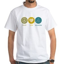 Peace Love Accounting Shirt