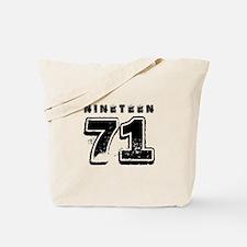 1971 Tote Bag