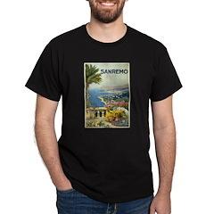 Sanremo Travel Poster T-Shirt