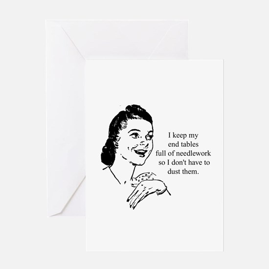 Needlework - Don't have to Du Greeting Card