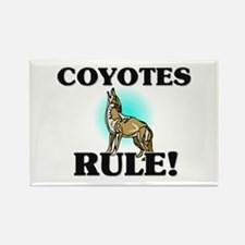 Coyotes Rule! Rectangle Magnet