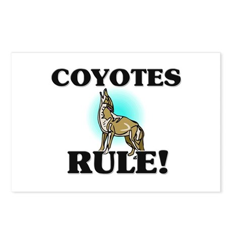 Coyotes Rule! Postcards (Package of 8)