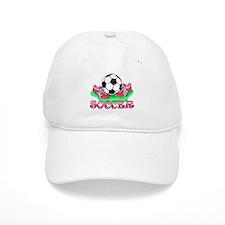 Soccer (Pink) Baseball Cap