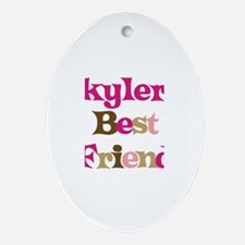 Skyler's Best Friend Oval Ornament