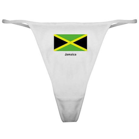 Jamaica Jamaican Flag Classic Thong
