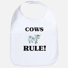Cows Rule! Bib
