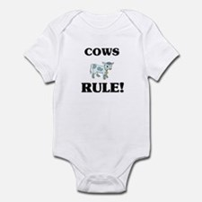 Cows Rule! Infant Bodysuit