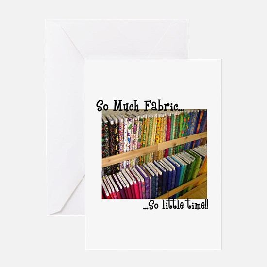So Much Fabric, So Little Tim Greeting Card