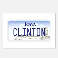 Iowa Supports Clinton Postcards (Package of 8)