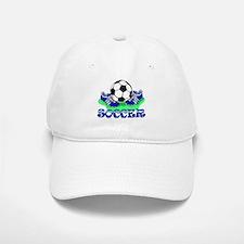 Soccer (Blue) Baseball Baseball Cap
