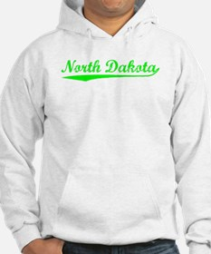 Vintage North Dakota (Green) Hoodie