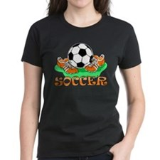 Soccer (Orange) Tee