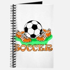 Soccer (Orange) Journal