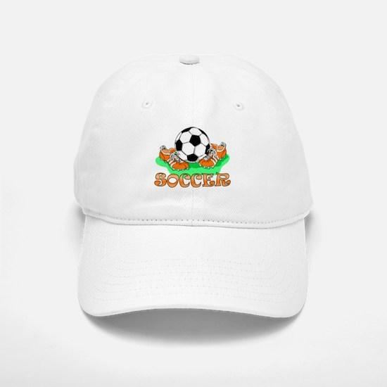 Soccer (Orange) Baseball Baseball Cap