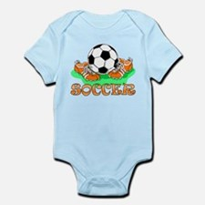 Soccer (Orange) Infant Bodysuit