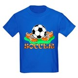 Boys soccer shirts Kids T-shirts (Dark)