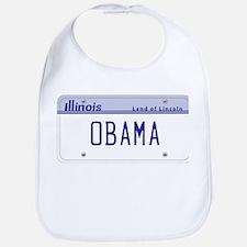 Illinois Supports Obama Bib