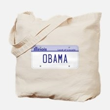 Illinois Supports Obama Tote Bag