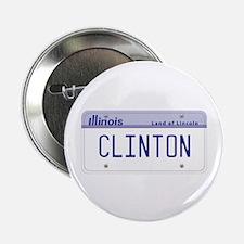 "Illinois Supports Clinton 2.25"" Button"