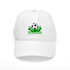 Soccer (Green) Baseball Cap