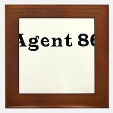 Agent 86 Framed Tile