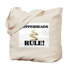 Copperheads Rule! Tote Bag