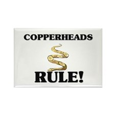 Copperheads Rule! Rectangle Magnet