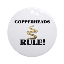 Copperheads Rule! Ornament (Round)