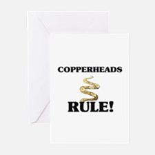 Copperheads Rule! Greeting Cards (Pk of 10)