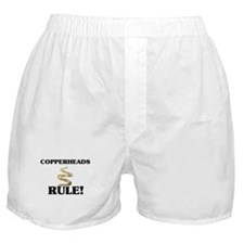 Copperheads Rule! Boxer Shorts