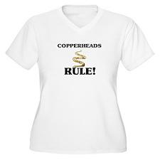Copperheads Rule! T-Shirt