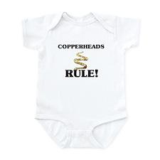 Copperheads Rule! Infant Bodysuit