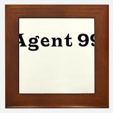 Agent 99 Framed Tile