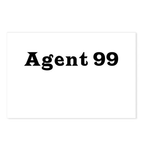 Agent 99 Postcards (Package of 8)
