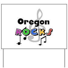 Oregon Rocks Yard Sign