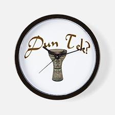 Dun Tec? Doumbek Wall Clock
