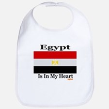 Egypt - Heart Bib