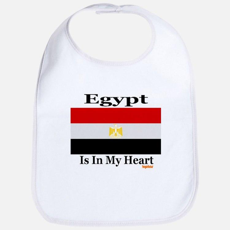Egypt - Heart Bib