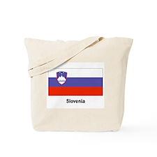 Slovenia Slovenian Flag Tote Bag