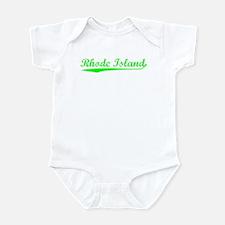 Vintage Rhode Island (Green) Infant Bodysuit