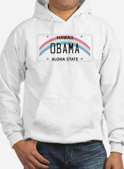 Hawaii Supports Obama Hoodie
