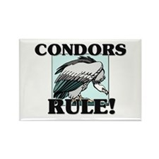 Condors Rule! Rectangle Magnet