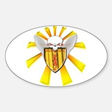 Royal Scottish Defender Sticker (Oval)