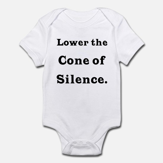 Cone of Silence Infant Bodysuit