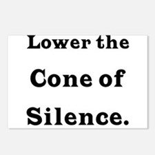 Cone of Silence Postcards (Package of 8)